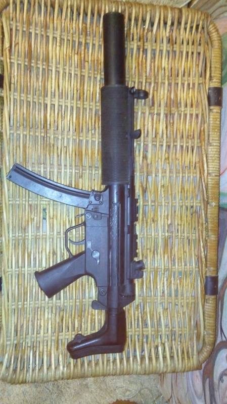Купить MP 5 SD 6 made in china для страйкбола