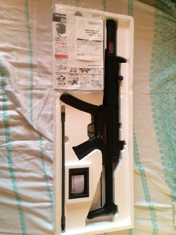 Купить MP5SD6 made in Japan для страйкбола