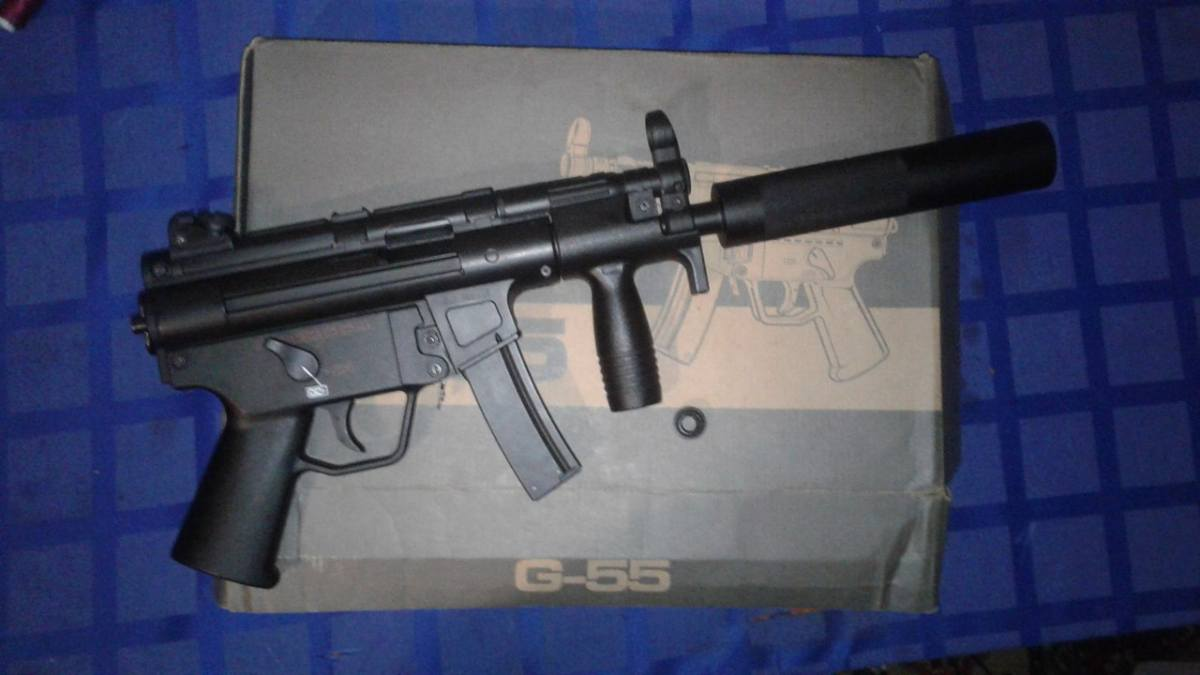 Купить MP 5 Kurz WELL для страйкбола