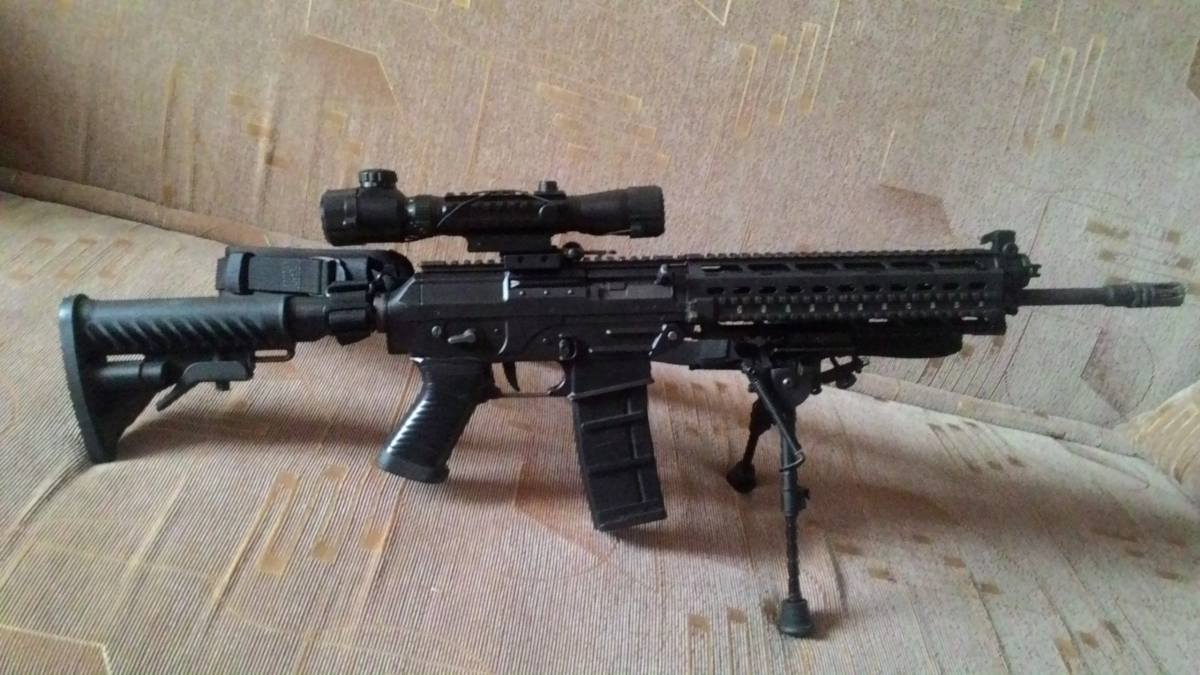Купить SIG 556 Holo RAS Version KingArms для страйкбола