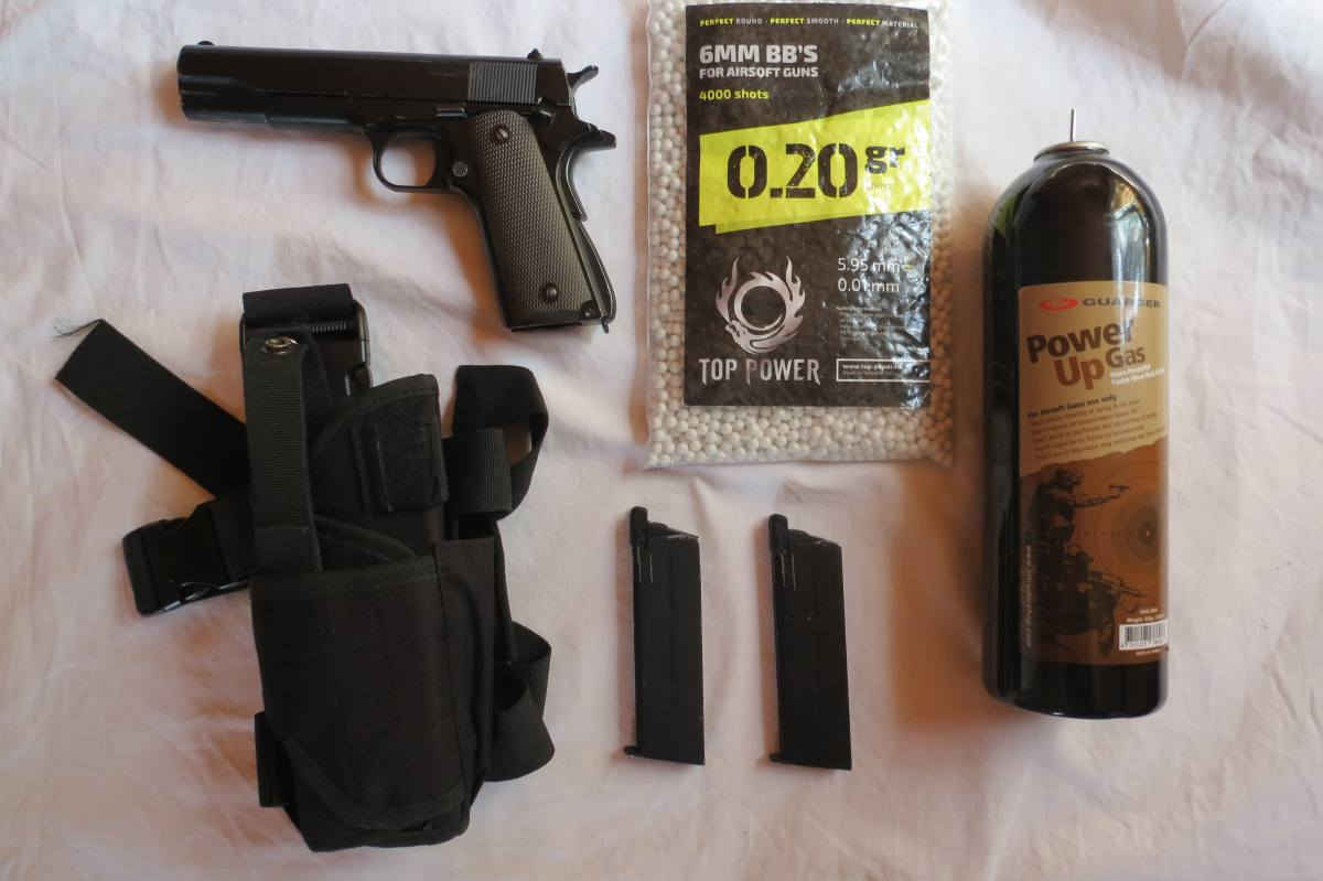 Купить Colt 1911 (green gas/co2) KJWorks для страйкбола